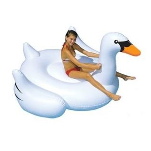 Swimline Giant Swan Inflatable Pool Toy