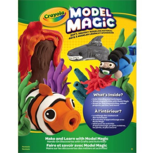 Crayola Make & Learn Model Magic Booklet, Educational Activities for Kids, Gift