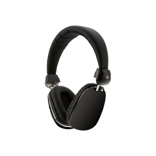 GPX iLive IAHP46B - Headphones with mic - full size - wireless - Bluetooth - black (IAHP46B)