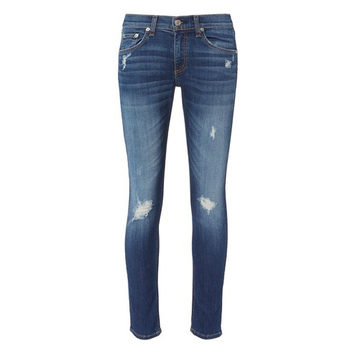 RAG & BONE /Jean Canyon Distressed Capri Jeans