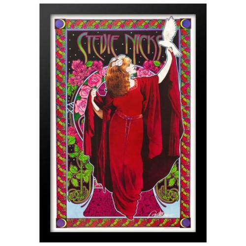 Concert poster designed by Bob Masse for Stevie Nicks