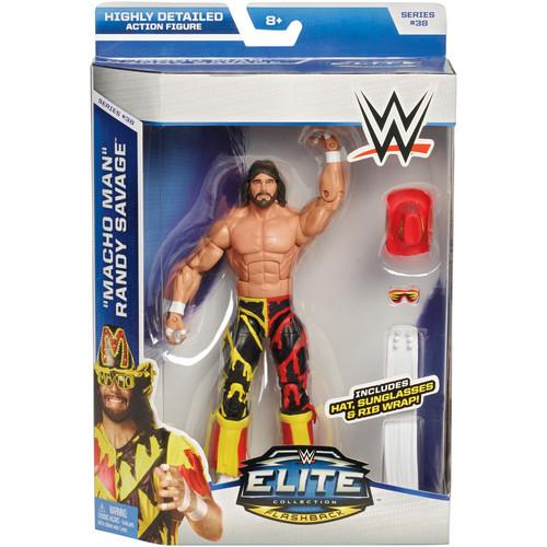 WWE Macho Man Randy Savage - Elite 38 Toy Wrestling Action Figure