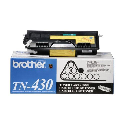 Brother Genuine TN430 Black Original Laser Toner Cartridge