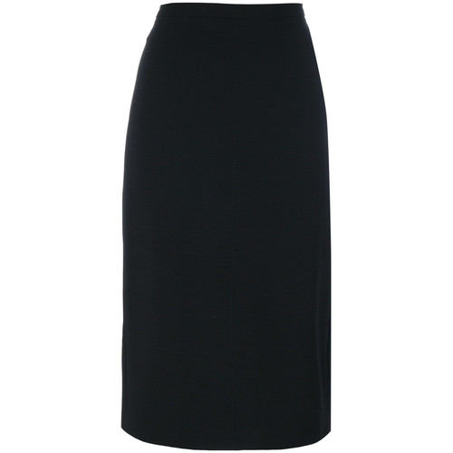 classic fitted pencil skirt