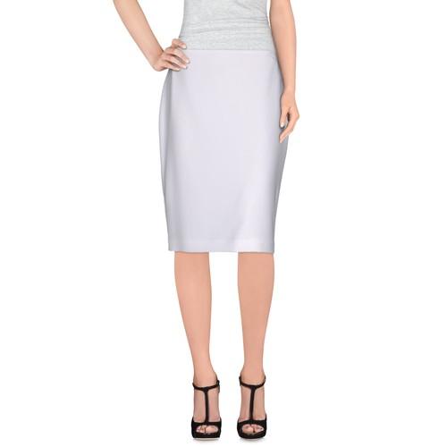 ST. JOHN CAVIAR Knee length skirt