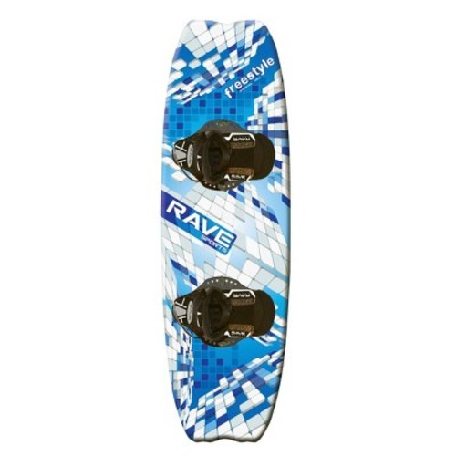 Rave Freestyle Wakeboard with Striker Bindings - 139 cm. [139 cm.]