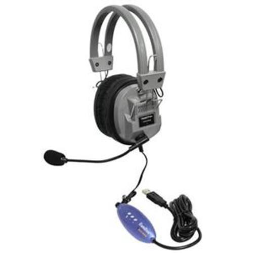 Hamilton Buhl Deluxe USB Headphone with Microphone HA5USBSM