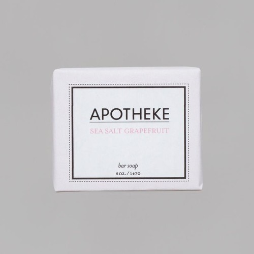Sea Salt Grapefruit Bar Soap design by Apotheke