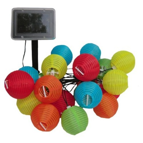 Smart Living Chinese Lanterns 20ct. Solar String Light