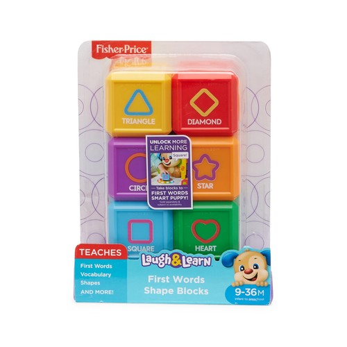 Laugh & Learn First Words Shape Blocks