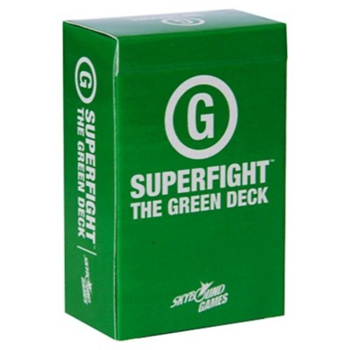 Superfight: Green (Family) Deck Game