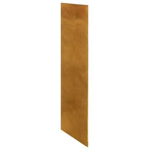 Home Decorators Collection Toffee Glaze Assembled 23.25x18x0.1875 in. Wall Kitchen Skin End Panel