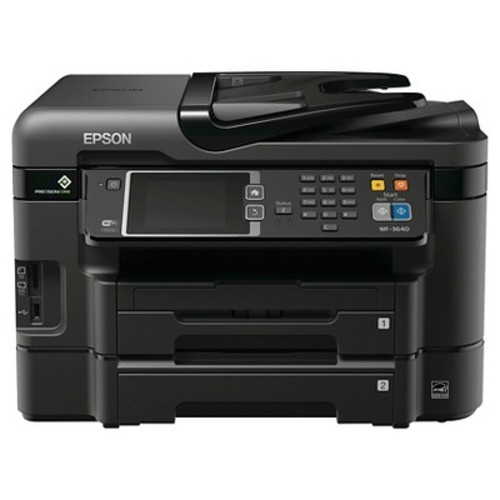 Epson WorkForce WF-3640 Wireless Color All-in-One Inkjet Printer with Scanner and Copier: Electronics [Printer]