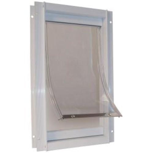 Ideal Pet 7 in. x 11.25 in. Medium Deluxe Aluminum Frame Pet Door