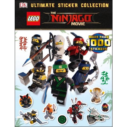 LEGO(R) The Ninjago(R) Movie Ultimate Sticker Collection Book