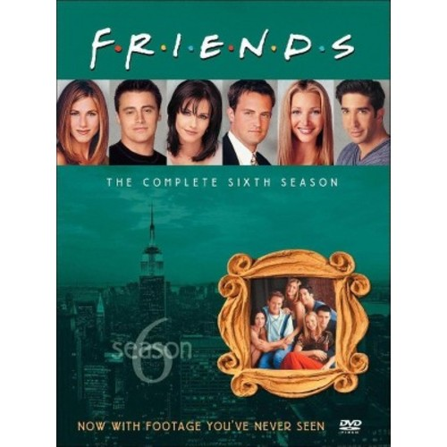 Friends: The Complete Sixth Season [4 Discs]
