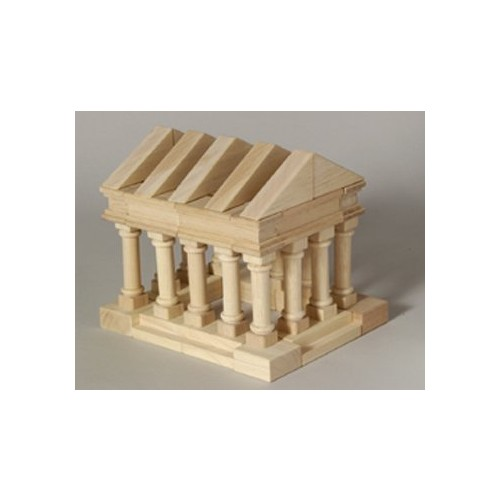 Guidecraft Tabletop Building Blocks - Greek Block Set G6104 [Multicolor, None]