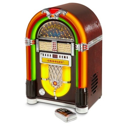 Crosley Bluetooth Tabletop Jukebox - Cherry