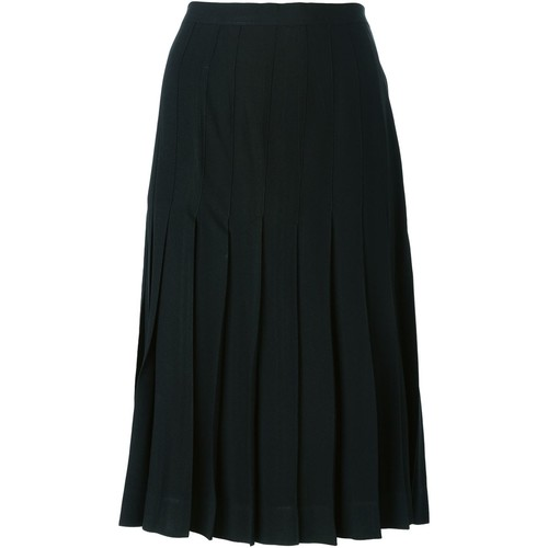 YVES SAINT LAURENT VINTAGE Pleated Skirt