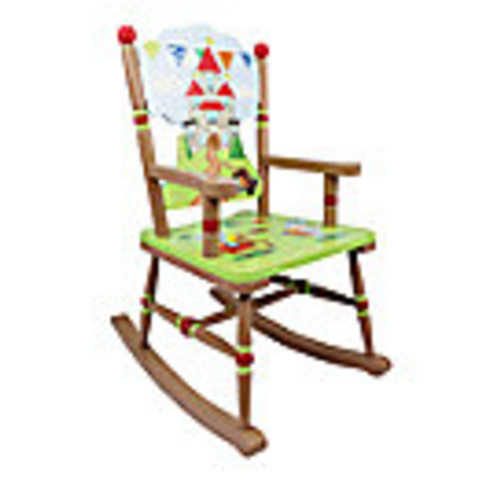 Knights & Dragons Rocking Chair