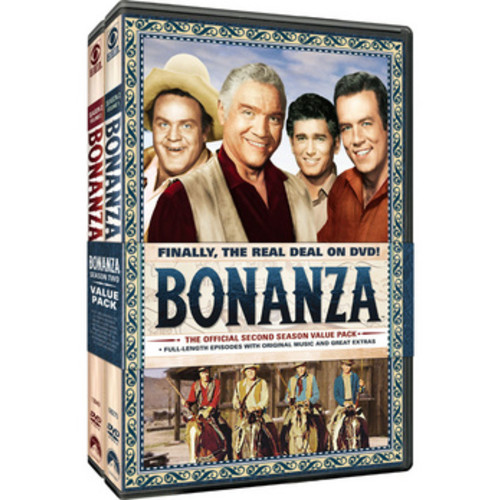 Bonanza: The Official Second Season, Vols. 1 & 2 (Full Frame)