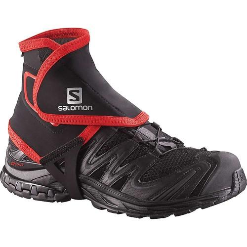 Salomon S-Lab Trail High Gaiters, Size 4.5-7, Black