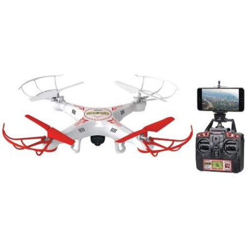 World Tech Elite 33743 4.5-Channel 2.4 Ghz Striker Drone Live Feed With Camera