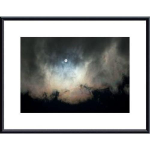 Printfinders Deep Space by John K. Nakata Framed Photographic Print; Black