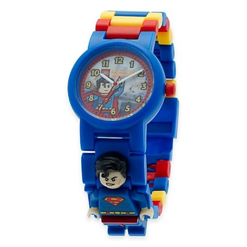 Lego DC Comics Super Heroes Superman Buildable Watch with Minifigure