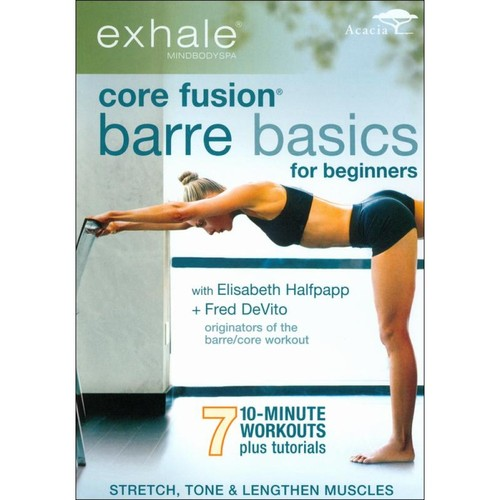 Exhale: Core Fusion - Barre Basics for Beginners [DVD]