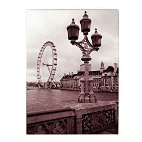 London Eye 2 by Kathy Yates, 16x24-Inch Canvas Wall Art