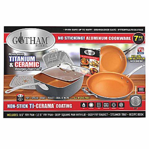 Impulse Gotham Steel 7-pc. Aluminum Non-Stick Cookware Set 1129