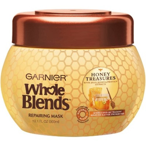 Garnier Whole Blends Honey Treasures Repairing Mask - 10.1oz