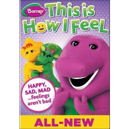 Barney: This is How I Feel DVD