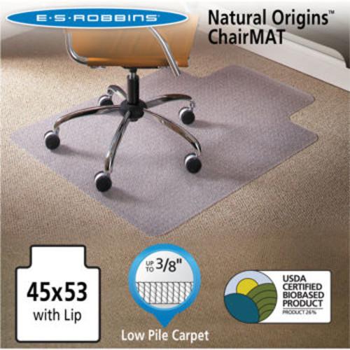 ES Robbins Natural Origins Chair Mat for Carpet 45