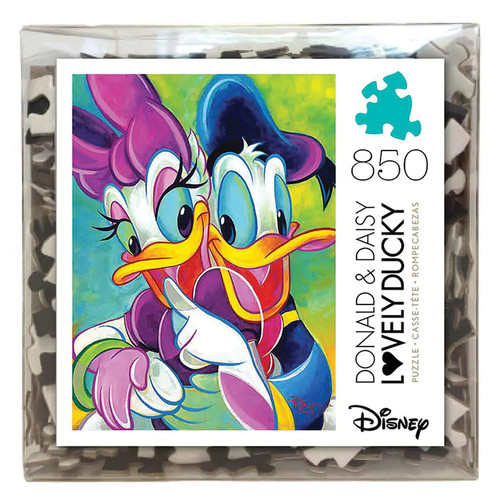 Disney's Donald & Daisy Duck 850-pc. Deluxe Puzzle Cube by Ceaco
