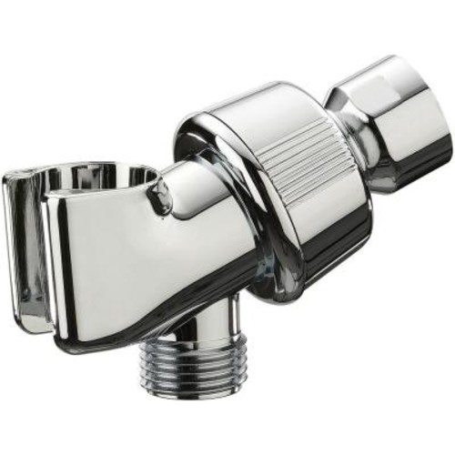 Glacier Bay Shower Arm Mount in Chrome