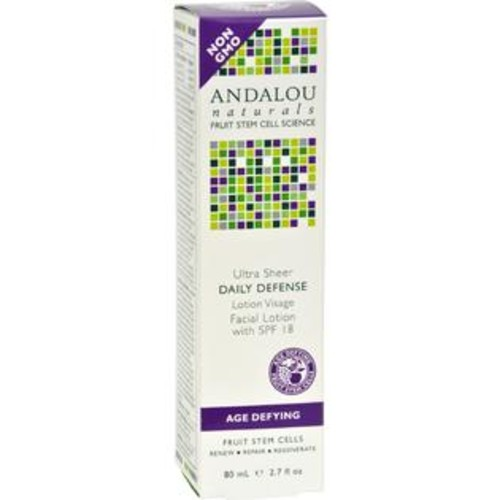 Andalou Naturals Ultra Sheer Daily Defense Facial Lotion with SPF 18 - 2.7 fl oz