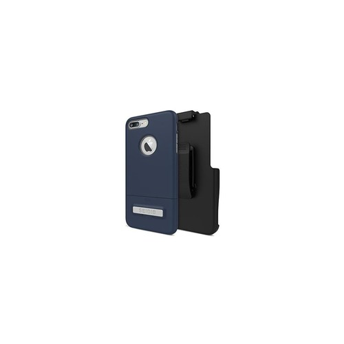 Seidio Surface Case and Holster Combo with Kickstand for Apple iPhone 7 Plus (Midnight Blue/Gray)