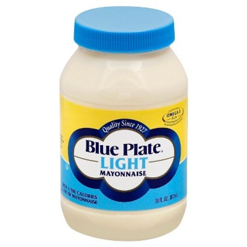 Blue Plate Light Mayonnaise - 30 fl oz