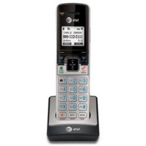 AT&T TL90073 DECT 6.0 Accessory Handset for TL92273, TL96273 & Other Models, Silver/Black [Accessory Handset]