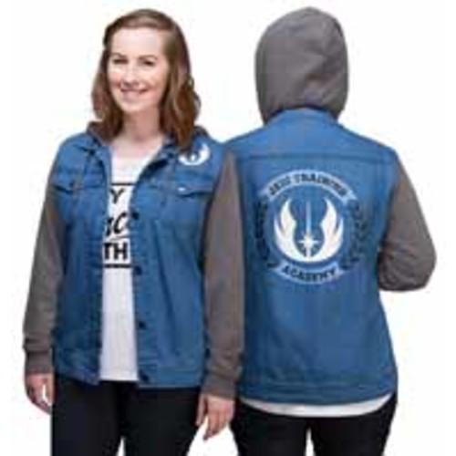 Jedi Training Academy Ladies Denim Jacket Exclusive Denim 2X