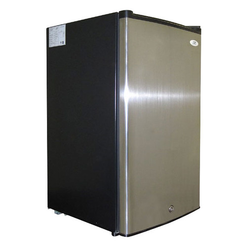 SPT - 3.0 Cu. Ft. Upright Freezer - Stainless steel