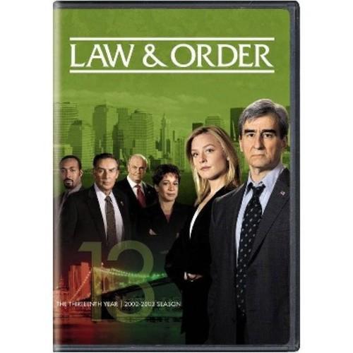 Law & order:Thirteenth year (DVD)