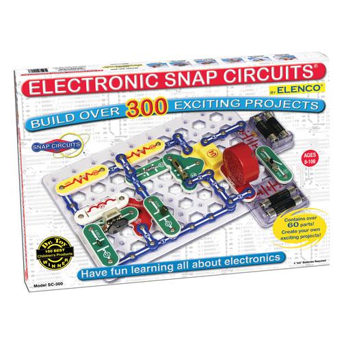 Elenco Electronics Snap Circuits 300 Experiments
