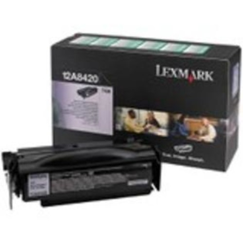 Lexmark Black Return Program Toner Cartridge
