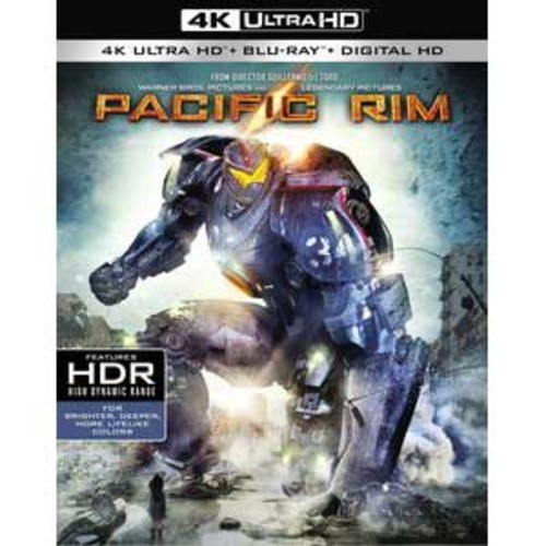 Pacific Rim [4K UHD] [Blu-Ray] [Digital HD]