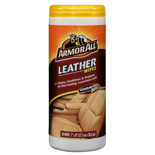 Armor All leather cleaning wipes 20ct.