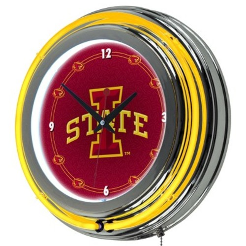 NCAA Iowa State Cyclones Neon Clock - 14