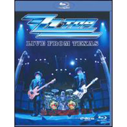 ZZ Top: Live from Texas [Blu-ray] WSE 2/DD5.1